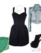 Black Dress...