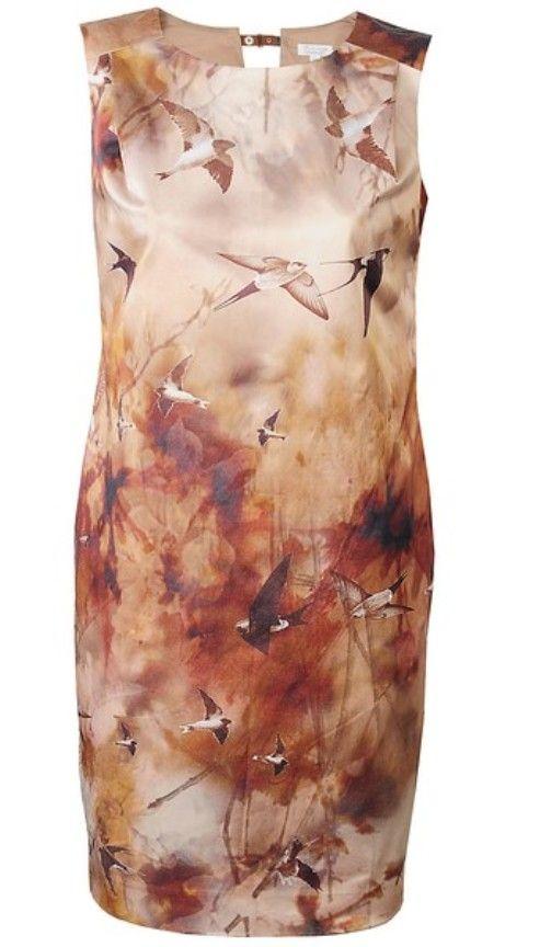 Sukienka Solar w ptaki...