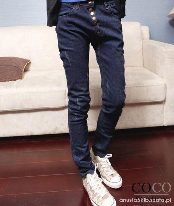 spodnie jeansy meskie