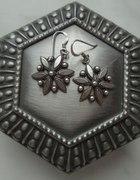 srebrne śnieżynki kwiaty ze srebra