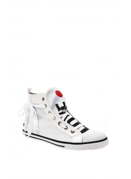 Białe trampki Love Moschino...