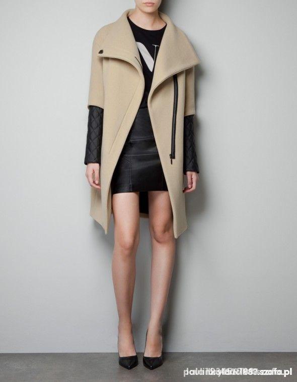 płaszcz szyty na wzór Zara