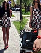 Sheinside print dress