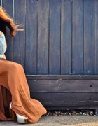 Baby blue i karmel ove