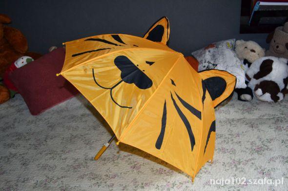 Pozostałe Śliczny parasol tygrysek