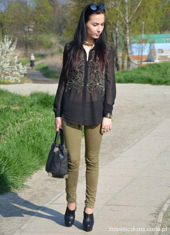 Blogerek Black & olive