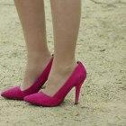 różowe szpilki