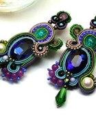 Kolczyki sutasz soutache Orient Multicolor