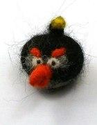 Angry Birds Bomba broszka