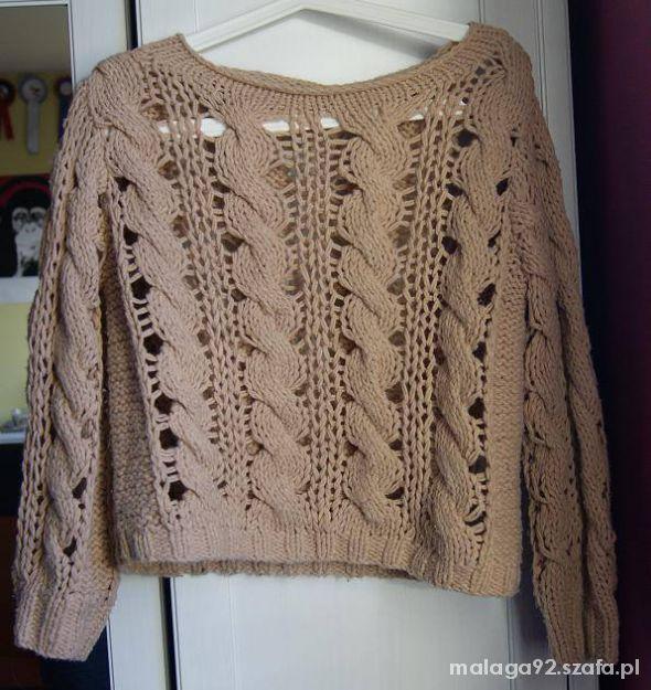 Ażurkowy sweterek Topshop