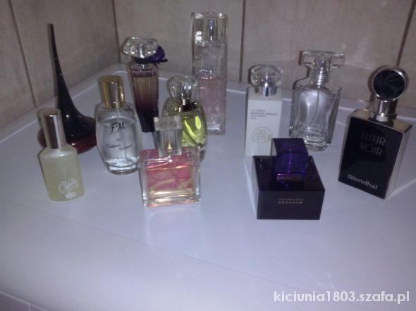 Perfumy moja kolekcja zapachów