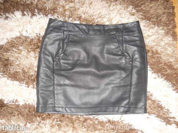 Spódnice Skórzana spódnica xs