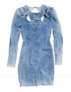 Jeansowa sukienka H&M...