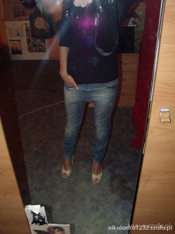 spodnie baggy m l