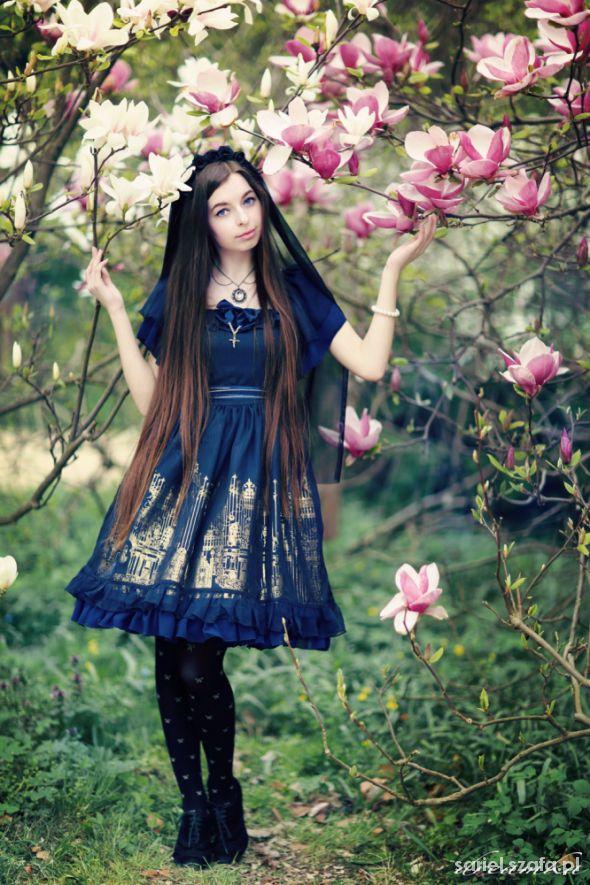 Eleganckie Rose Church Classic Lolita