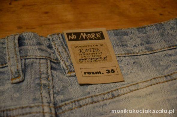 Spódnice Spodnica jeansowa no more