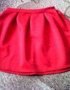Mega śliczna ROZKLOSZOWANA spódniczka ZIP RED czer