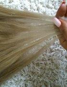 OMBRE sedni blond jasny blond CLIP IN naturalne
