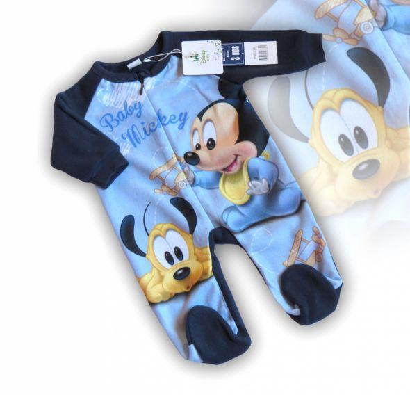 67205564231f08 Śpiochy polar pajacyk piżama Myszka Miki 86 UK w Śpiochy, pajacyki ...