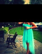 super sukienka miętowa
