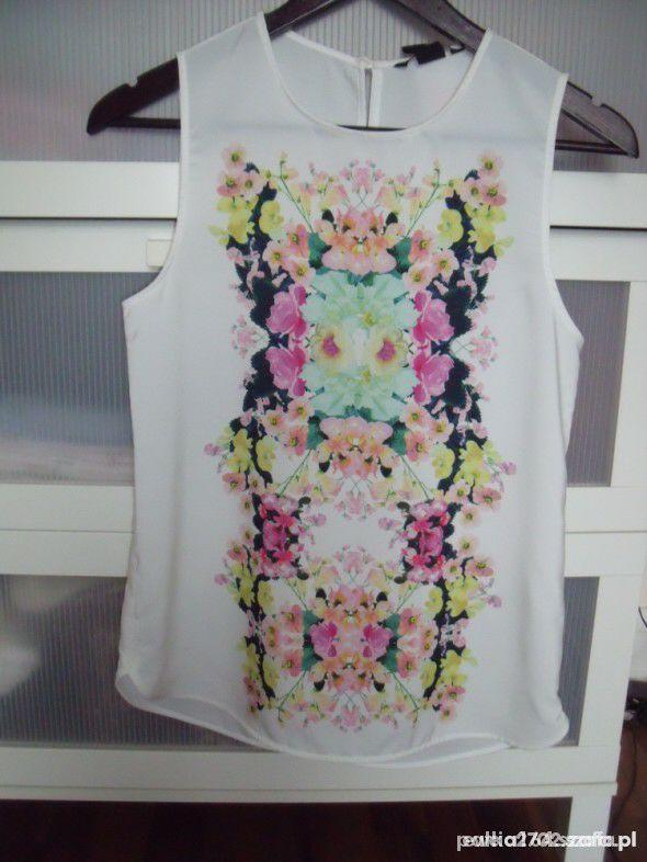 bluzka kwiaty floral h&m
