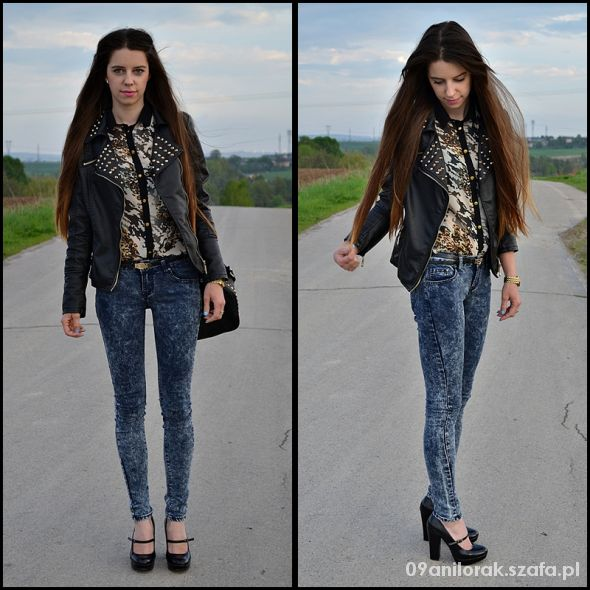 Blogerek Leopard print shirt