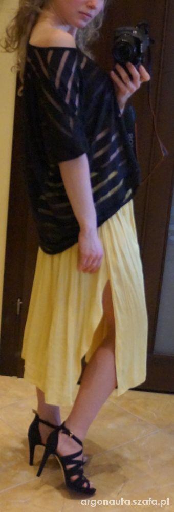 Mój styl spódnica w kolorze kogla mogla