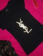 POSZUKIWANA czarna ysl złote logo