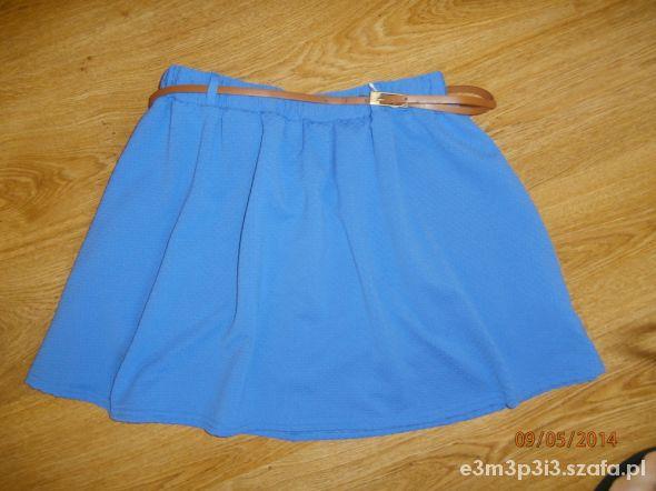 Spódnice Niebieska letnia spódnica
