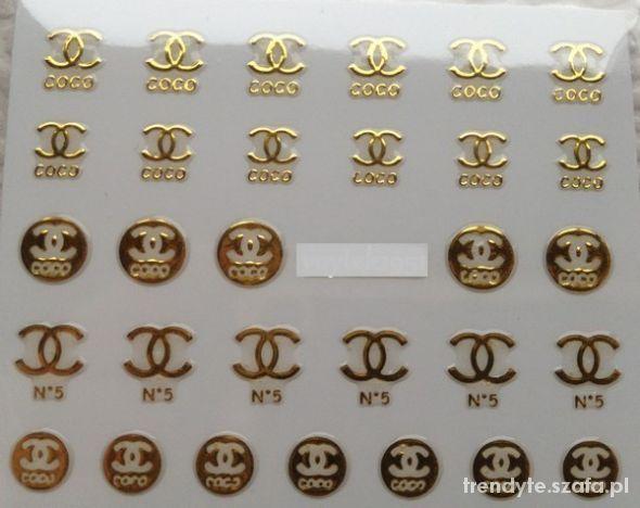 72fd131d3 chanel naklejki na paznokcie Coco w Paznokcie - Szafa.pl