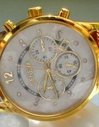 Wiosenna promacja zegarek Geneva skórzany pasek
