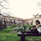 Stylizacja wiosenna baskinka legginsy