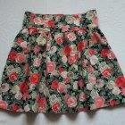 H&M spódnica garden floral róże kwiaty wiosna