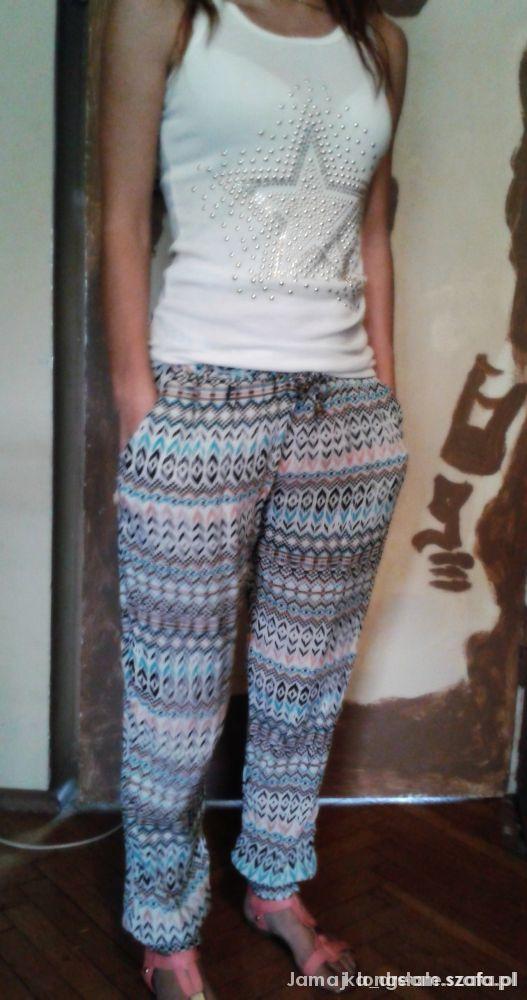 WYMIENIĘ spodnie bawełniane typu aztec