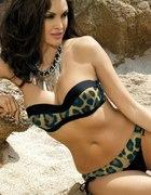 bikini strój kąpielowy etna w panterkę