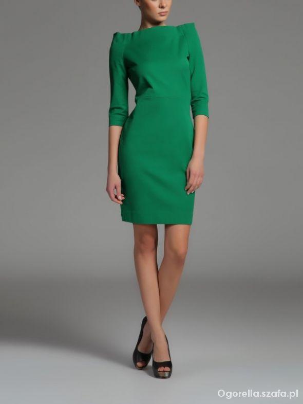 Zielona Sukienka TOP SECRET...