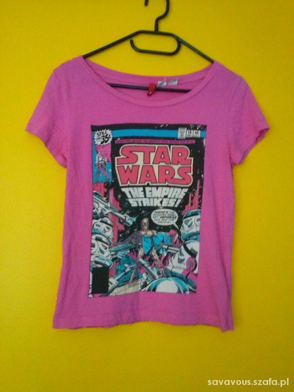 abb51be7f0b6e różowa koszulka bluzka star wars xs w T-shirt - Szafa.pl