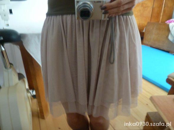 Spódnice Mini spódnica spódniczka tiul tiulowa M róż
