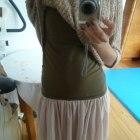 Mini spódnica spódniczka tiul tiulowa M róż