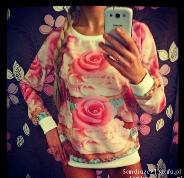 Kwiatowa bluza