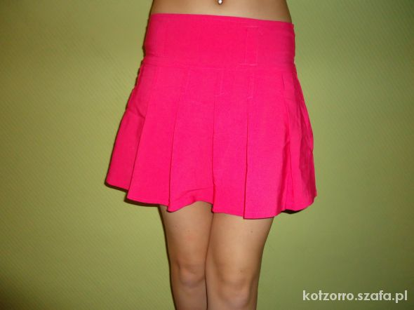 Spódnice Spódniczka mini różowa
