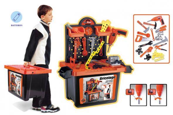 Zabawki Warsztat z narzędziami
