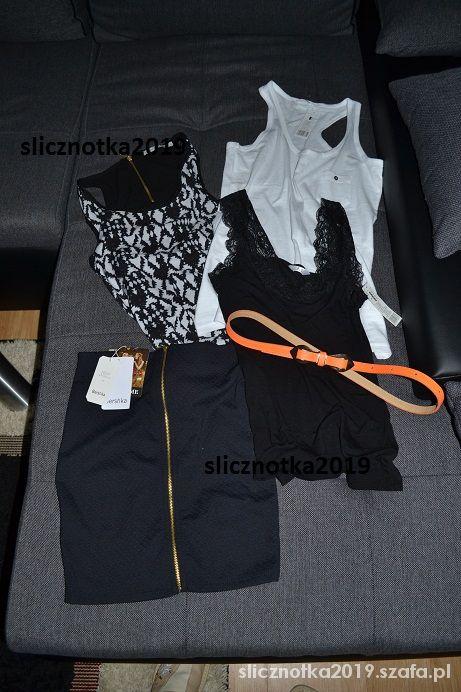 Bershka Spódniczka zip