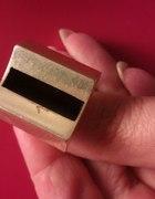 srebrny pierścionek z emalią