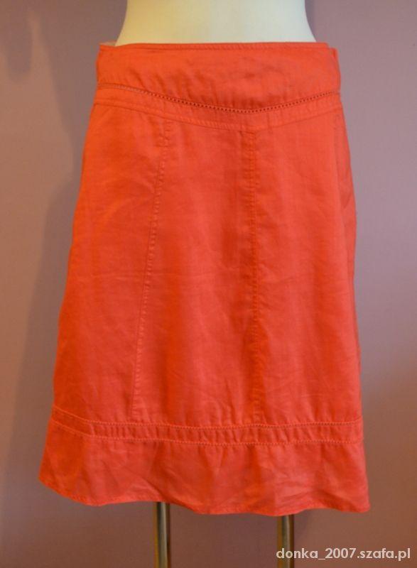 Spódnice Morelowa spódnica ATMOSPHERE 40
