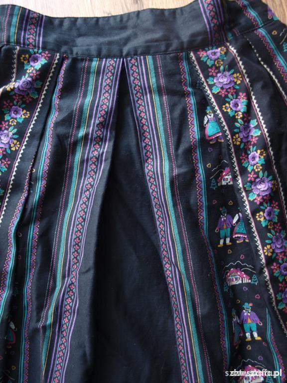 Spódnice folk boho spódnica