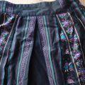 folk boho spódnica