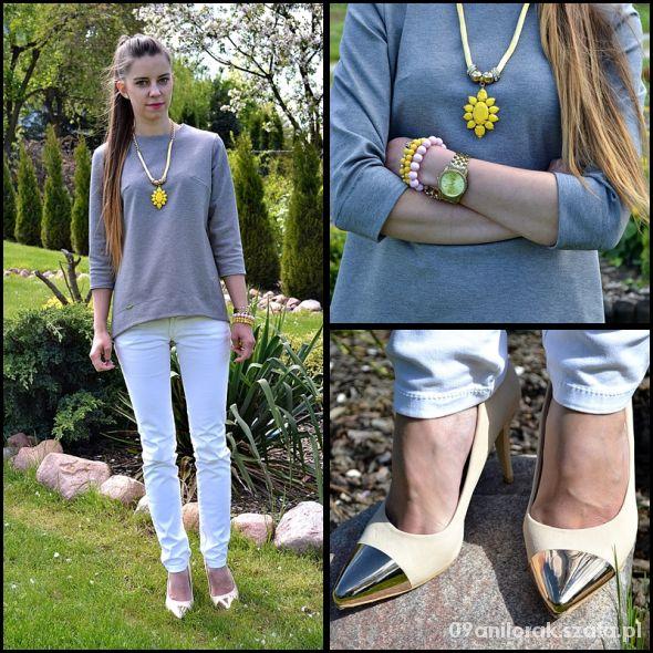 Blogerek Gray & white