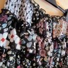 Spódniczka floral falbanki
