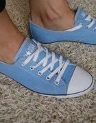 trampki tenisówki Converse niebieskie